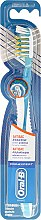 Духи, Парфюмерия, косметика Зубная щетка, бело-голубая - Oral-B Pro-Expert Antibacterial Medium
