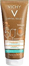 Духи, Парфюмерия, косметика Солнцезащитное увлажняющее молочко для кожи лица и тела - Vichy Capital Soleil Solar Eco-Designed Milk SPF 50+