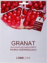 Духи, Парфюмерия, косметика Восстанавливающая маска с гранатом - LomiLomi Granat