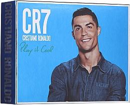 Духи, Парфюмерия, косметика Cristiano Ronaldo CR7 Play It Cool - Набор (edt/100ml + sh/gel/150ml + deo/spray/150ml)