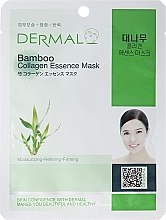 Духи, Парфюмерия, косметика Маска с коллагеном и экстрактом бамбука - Dermal Bamboo Collagen Essence Mask
