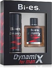 Духи, Парфюмерия, косметика Bi-Es Dynamix Classic - Набор (afsh/100ml + deo/150ml)
