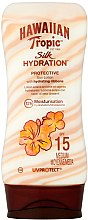 Духи, Парфюмерия, косметика Солнцезащитный лосьон для тела - Hawaiian Tropic Silk Hydration Sun Lotion SPF 15