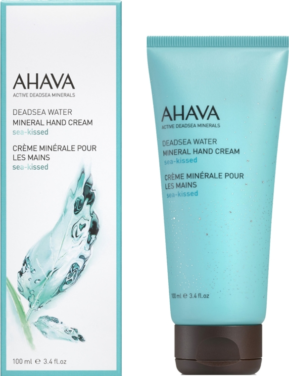 "Крем для рук минеральный ""Поцелуй моря"" - Ahava Deadsea Water Mineral Hand Cream Sea-Kissed — фото N1"