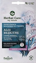 "Духи, Парфюмерия, косметика Маска для лица ""Синие водоросли"" - Farmona Herbal Care Blue Algae Face Mask"
