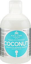 Духи, Парфюмерия, косметика Питательный и укрепляющий шампунь с кокосовым маслом - Kallos Cosmetics Coconut Shampoo