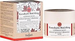 Духи, Парфюмерия, косметика Восстанавливающий ночной био-крем 50+ - Farmona Canadian BioLifting Red Maple
