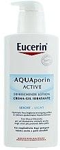 Духи, Парфюмерия, косметика Легкий увлажняющий лосьон для тела - Eucerin AquaPorin Active Refreshing Lotion Light