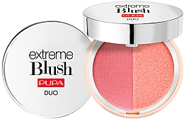 Духи, Парфюмерия, косметика Компактные двойные румяна - Pupa Extreme Blush Duo