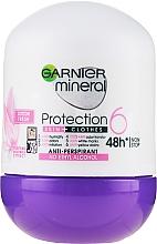 Духи, Парфюмерия, косметика Дезодорант-ролик - Garnier Mineral Protection 6 Cotton Fresh