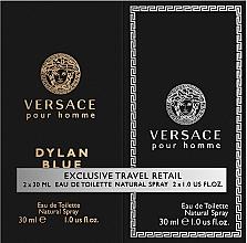 Духи, Парфюмерия, косметика Versace Dylan Blue Pour Homme - Набор (edt/30ml + edt/30ml)