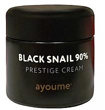 Духи, Парфюмерия, косметика Крем для лица с муцином черной улитки - Ayoume Black Snail Prestige Cream