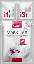 Духи, Парфюмерия, косметика Маска «Витамин А/С» - Klapp Mask Lab Vitamin A/C Power Mask