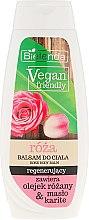 "Духи, Парфюмерия, косметика Лосьон для тела ""Роза"" - Bielenda Vegan Friendly Regenerating Rose Body Balm"