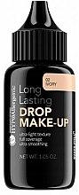 Духи, Парфюмерия, косметика Тональная основа - Bell Hypoallergenic long Lasting Drop Make-Up Base
