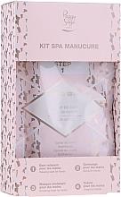 Духи, Парфюмерия, косметика Набор - Peggy Sage Spa Manucure Kit (bath/caviar/20g + peeling/gel/15ml + h/masque/15ml + h/cr/15ml)