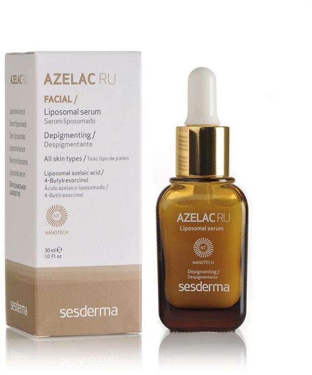 Липосомальная сыворотка с Азелаиновой кислотой - SesDerma Laboratories Azelac Ru Liposomal Serum — фото N2