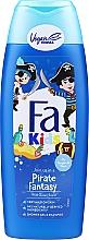 Духи, Парфюмерия, косметика Гель-шампунь для душа для мальчиков - Fa Kids Pirate Fantasy