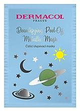 Духи, Парфюмерия, косметика Маска для лица - Dermacol Beautifying Cleansing Peel-Off Metallic Mask