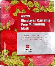 Духи, Парфюмерия, косметика Маска для лица - Leaders 7 Wonders Himalayan Camellia Pore Minimizing Mask
