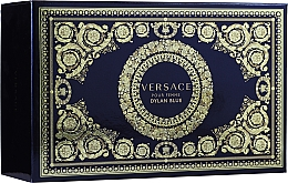 Духи, Парфюмерия, косметика Versace Dylan Blue Pour Femme - Набор (edp/50ml + edp/10ml + pouch)