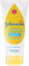 Духи, Парфюмерия, косметика Крем детский увлажняющий - Johnson's Baby Top-To-Toe Cream
