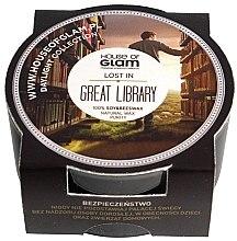 Духи, Парфюмерия, косметика Ароматическая свеча - House of Glam Lost In Great Library Candle (мини)