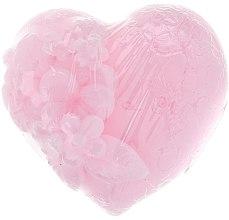 """Глицериновое мыло """"Влюбленное сердце"""", розовое - Bulgarian Rose Soap — фото N2"""