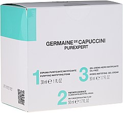 Духи, Парфюмерия, косметика Набор - Germaine de Capuccini Purexpert Special Set 1-2-3 Oily (f/foam/30ml + fluid/50ml + f/gel/50ml)