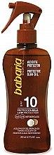 Духи, Парфюмерия, косметика Масло для загара - Babaria Protective Sun Oil Spf10