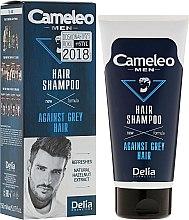 Духи, Парфюмерия, косметика Шампунь для мужчин уменьшающий седину - Delia Cameleo Men Against Grey Hair Shampoo