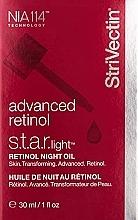 Ночное масло для лица с ретинолом - StriVectin Advanced Retinol S.T.A.R. Light Retinol Night Oil — фото N2