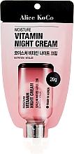 Духи, Парфюмерия, косметика Витаминный ночной крем для лица - Alice Koco Vitamine Night Cream