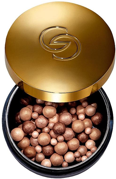 Хайлайтер для лица в шариках - Oriflame Giordani Gold Hightlighter Pearls — фото N1