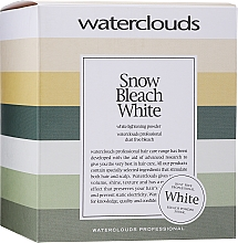 Духи, Парфюмерия, косметика Осветляющая пудра - Waterclouds Snow Bleach White