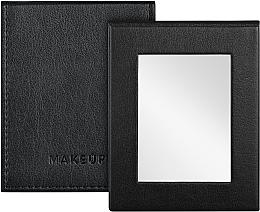 Духи, Парфюмерия, косметика Зеркальце карманное раскладное, черное - MakeUp Pocket Mirror Black