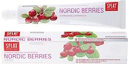 """Духи, Парфюмерия, косметика Зубная паста """"Северные ягоды"""" - Splat Special Nordic Berries Toothpaste"""