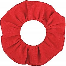 "Резинка для волос трикотаж, красная ""Knit Classic"" - MakeUp Hair Accessories — фото N2"