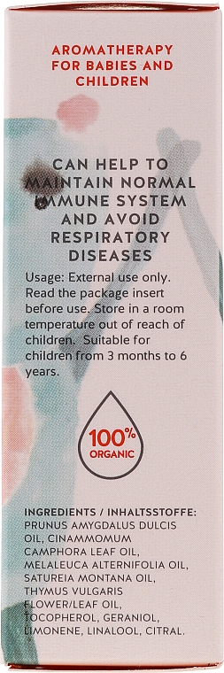 Смесь эфирных масел для детей - You & Oil KI Kids-Immunity Essential Oil Blend For Kids — фото N3