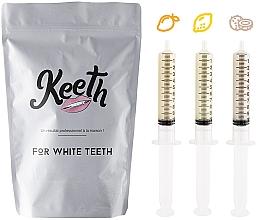 Духи, Парфюмерия, косметика Набор сменных картриджей для отбеливания зубов - Keeth Exotic Fruit Refill Pack