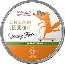 Духи, Парфюмерия, косметика Крем-дезодорант для подростков - Wooden Spoon Young Fox
