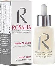 Духи, Парфюмерия, косметика Укрепляющая сыворотка для контура глаз и губ - Naturado Rosalia Serum Eye And Lip Contours