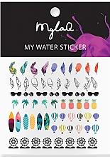 """Духи, Парфюмерия, косметика Наклейки для ногтей """"Праздничный день"""" - MylaQ My Holiday Sticker"""