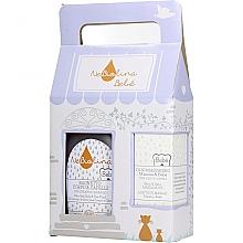 Духи, Парфюмерия, косметика Набор - NeBiolina Baby Gift Set II (body/hair/fluid/500ml+oil/100ml)