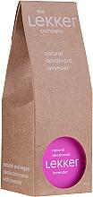 "Духи, Парфюмерия, косметика Натуральный крем-дезодорант ""Лаванда"" - The Lekker Company Natural Lavender Deodorant"
