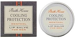 Духи, Парфюмерия, косметика Мужской бальзам для губ - Bath House Cooling Protection Menthol Lip Salve