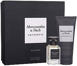 Духи, Парфюмерия, косметика Abercrombie & Fitch Authentic Men - Набор (edt/50ml + sh/gel/200ml)
