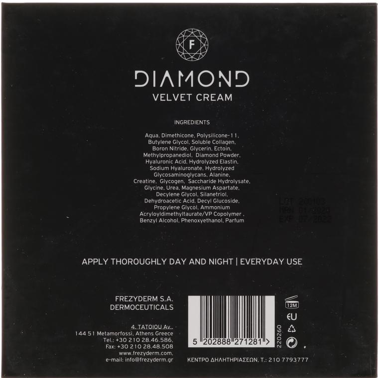 Увлажняющий крем для лица - Frezyderm Diamond Velvet Moisturizing Cream For Ripe Skin — фото N3