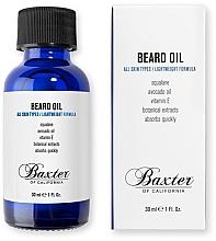 Духи, Парфюмерия, косметика Масло для бороды - Baxter of California Grooming Beard Oil