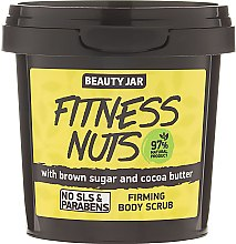 Духи, Парфюмерия, косметика Скраб для тела укрепляющий Fitness Nuts - Beauty Jar Firming Body Scrub
